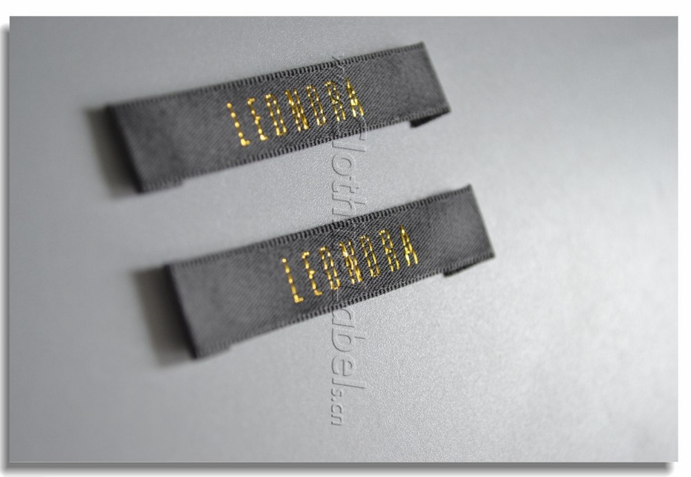 Online Shop custom woven labels for clothing, damask woven label ...