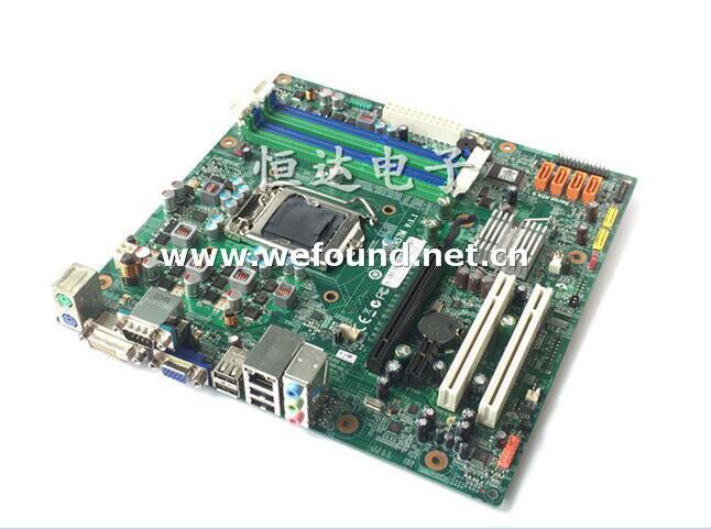 100% travail carte mère de bureau pour A85 M80 IH57M REV: 1.1 LGA 1156 carte mère entièrement testé