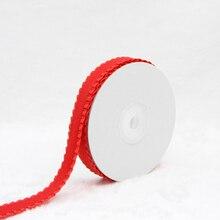 16mm DIY Hair Accessories Edges Crushed Ruffle Ribbon,Falbala Flouncing Corrugated Edge Ribbon