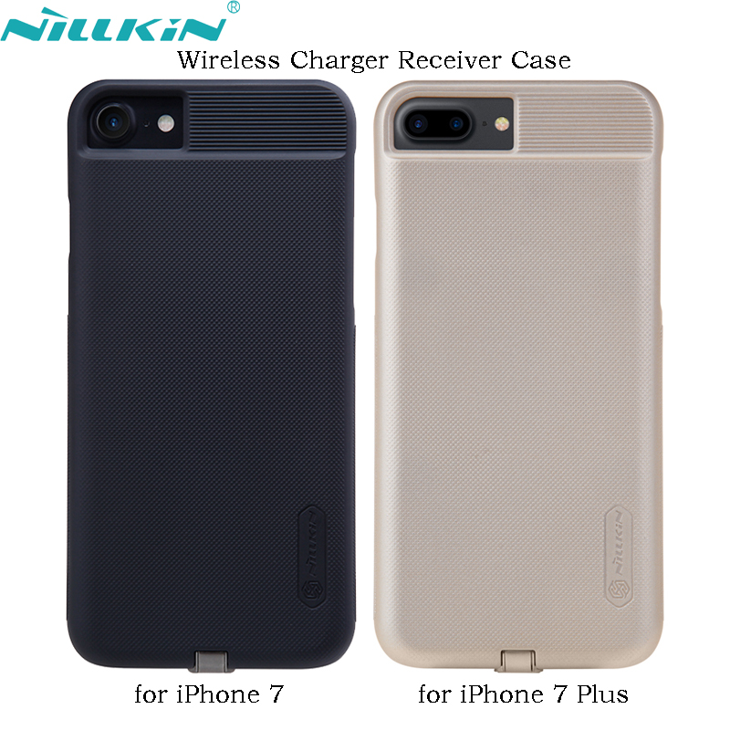 For iPhone 7 Plus 7Plus Wireless Charger Receiver Case NILLKIN QI Quality PC Frosted Back Cover