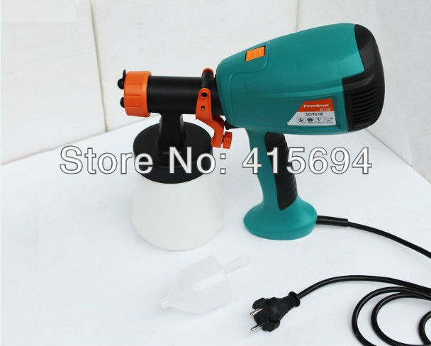 New arrival! Almighty electric spray gun,waterborne paint gun,wood-lacquered, metallic paint, essential DIY Home tools.Low Noise