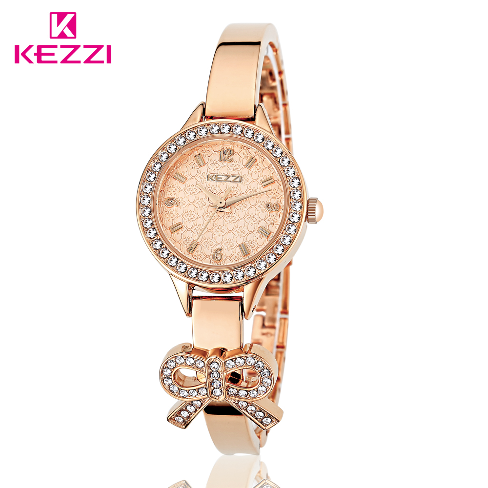 KEZZI 2016 TOP NEW Fashion Brand Women Luxury Watch High Quality Quartz Ladies Wristwatch Classic Shape