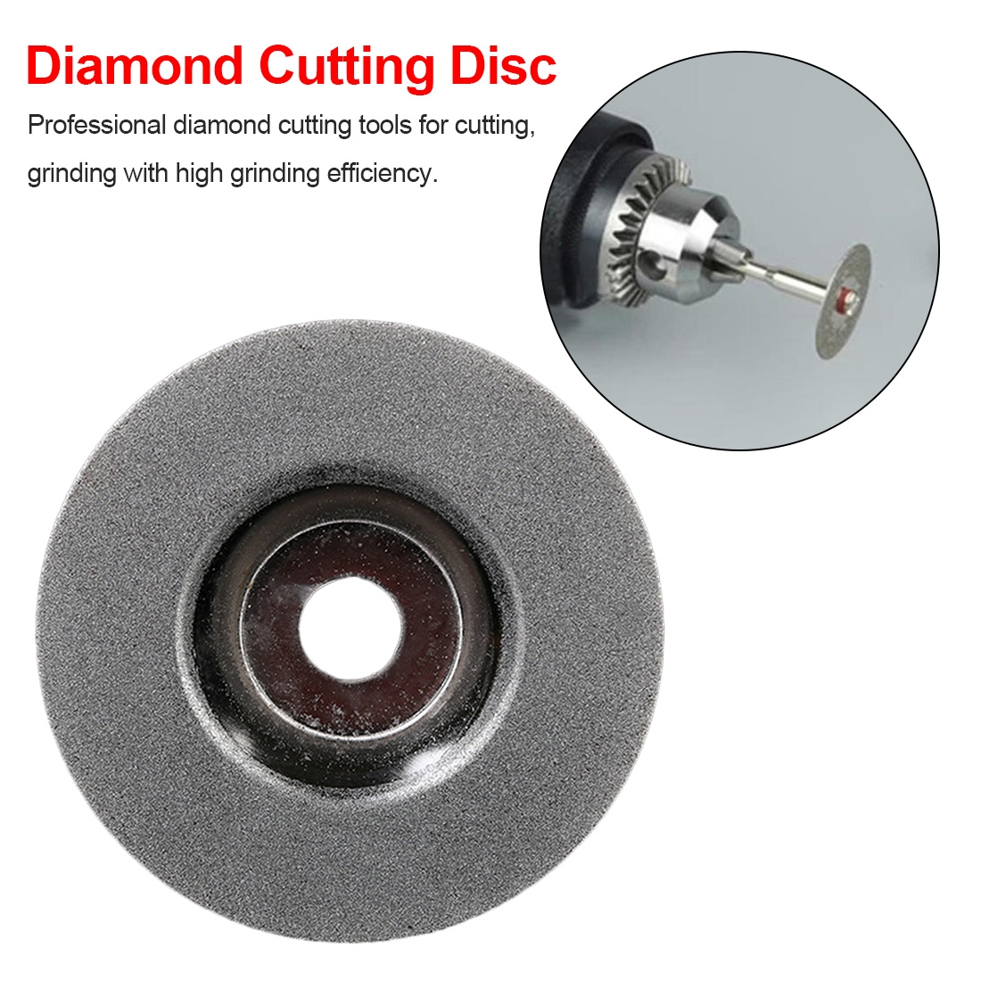 4 Inch Grinding Cutting Disc Diamond Circle Accessories Saw Blade Rotary Wheel For Angle Grinder Abrasive Tools