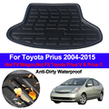 Hinten Boot Cargo Liner Fach Stamm Boden Teppich Matten Matte Teppiche Pad Für Toyota Prius 2004 2013 2014 2015 fließheck Liftback auf