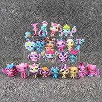 24pcs 12pcs Lps Action Figure Toys Little Pet Shop Anime Figure Toy Animal Cat Dog Figures