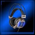 FBUANG G959 Gamer Gaming Headset Fone de Ouvido Com Fio de Fone De Ouvido Com Microfone LED Com Cancelamento de Ruído Fones De Ouvido para Computador PC