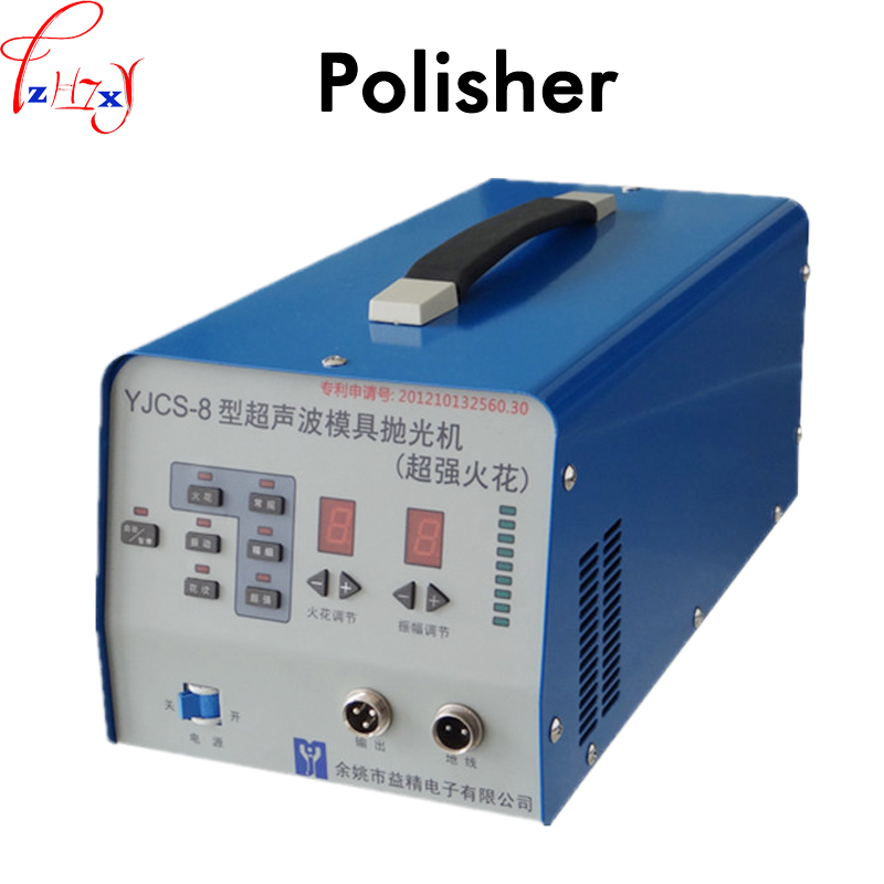 220 V 1 PZ Elettronico ad ultrasuoni macchina di pressofusione di lucidatura super forte scintilla ad ultrasuoni macchina di pressofusione di lucidatura