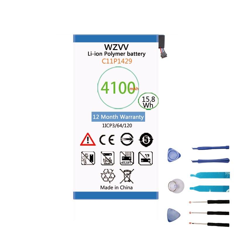 Wzvv 4100 мАч C11P1429 для Asus ZenPAD C 7,0 c7.0 Z170MG Z710CG Z710C P01Z P01Y Z170C литий-ионный полимерный Замена батарей
