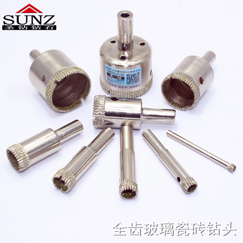 1 Pcs Diamant Outil Foret Foret Scie Pour Verre Céramique Marbre Carrelage 3mm-40mm