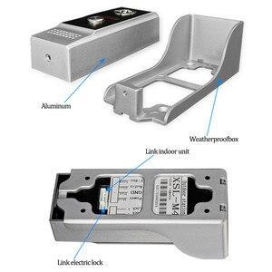 Image 4 - 4,3 дюймовый TFT цветной проводной видеодомофон, система дверного звонка для дома 700TVL ИК ночного видения, наружная камера, металлическая водонепроницаемая