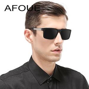 37183b1e32f AFOUE Retro Sunglasses Men Polarized Sun Glasses For Female