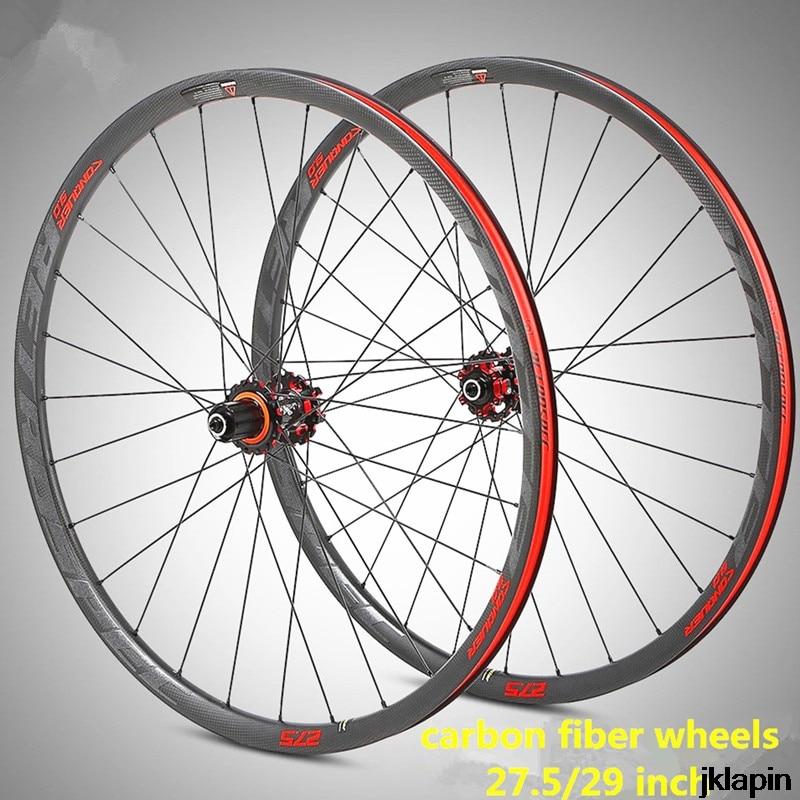 M920 Ultralight Full carbon fiber rim XC BMX wheels mountain bike wheel 27.5/29inch wheelset quick-release bucket shaft 1630gM920 Ultralight Full carbon fiber rim XC BMX wheels mountain bike wheel 27.5/29inch wheelset quick-release bucket shaft 1630g