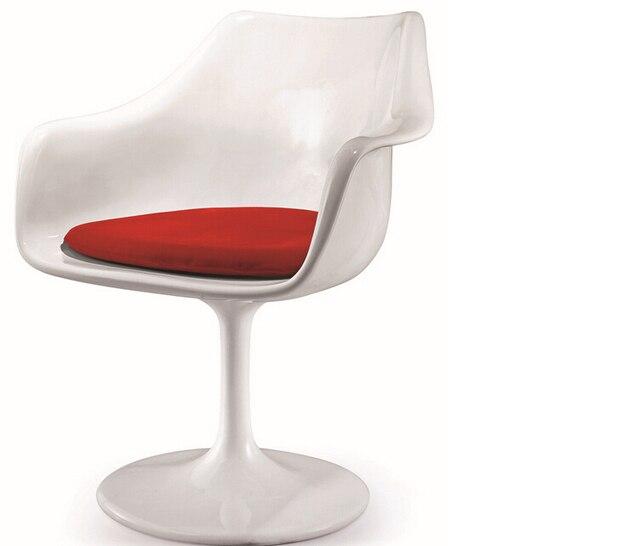 Eero Saarinen Tulip Armchair,Fiberglass chair,Garden