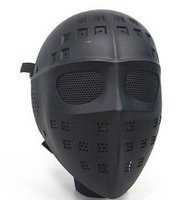 Full Face Hockey Type Airsoft Mesh Goggle Mask black A-TACS CAMO MARPAT DESERT