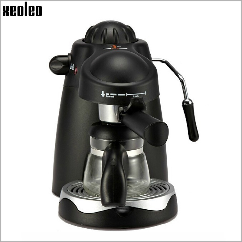 Xeoleo Automatic Espresso Coffee Maker 800W Espresso Machine Italy Coffee machine 3.5 Bar Cafe Machine 240ml