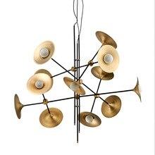 Nordic Speaker Shape Pendant Light Post modern Bjornled Rotatable Dining caft Restaurant hanging G9 LED bulb warm white