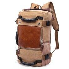DB27 Лидер продаж высокое качество Продвижение Модельер Винтаж холст большой Размеры Для мужчин Дорожные сумки большой Ёмкость Чемодан Рюкзаки