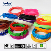 20 Colors 200M 3D Pen Filament 1.75mm 3D Printer Pen Filament ABS / PLA Plastic Rubber Consumable Material Colored Box Gifts