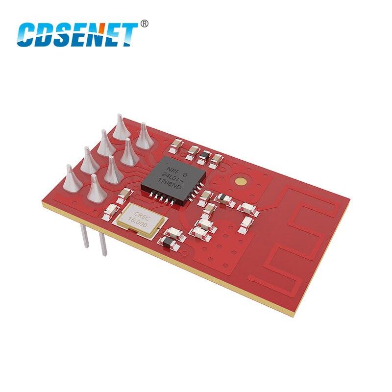 Беспроводной приемопередатчик nRF24L01, 2,4 ГГц, беспроводной приемопередатчик CDSENET, E01-ML01D, SPI, nRF24L01P, 2,4 ГГц, передатчик и приемник для Arduino
