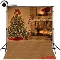 300cmx200cm Christmas Backgrounds For Photo Studio Christmas Tree Candle Socks Muslin Backdrop Background WSL 585
