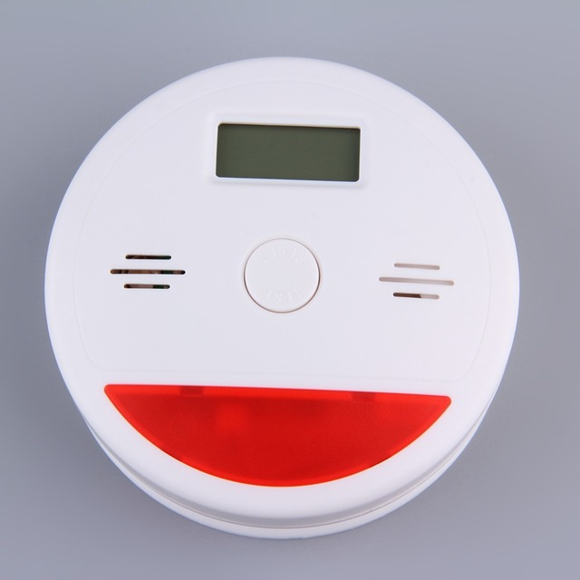 Carbon Monoxide Detector Sensor LCD Gas CO Alarm Tester independent LCD Display Poisonous CO Gas Detectors