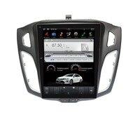 Android 7,1 большой Экран Тесла стиль автомобиля dvd плеер gps навигации для Ford Focus 2012 2017 навигация автомобиля стерео головного устройства мультиме
