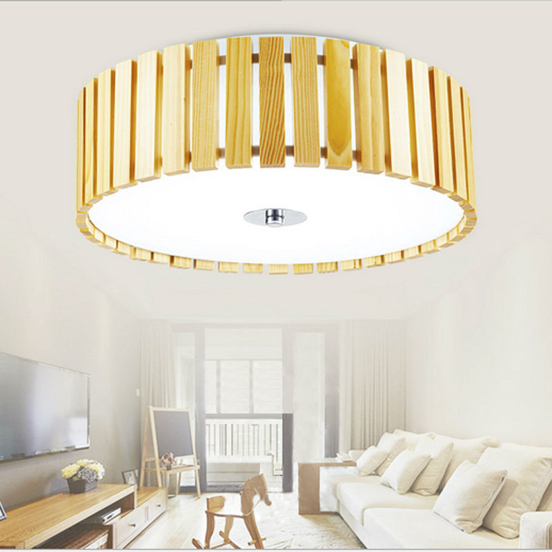 ФОТО 2017Nordic Home Simple Modern Living Room LED Ceiling Lamp Home Decoration Bedroom Light With PVC Material LED Bulb AC 110V 220V