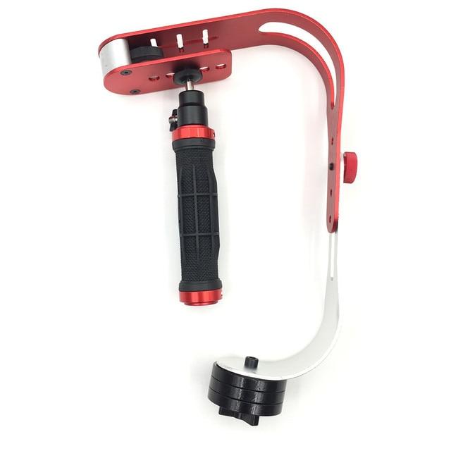 Alloy Aluminum Mini Handheld Digital Camera Stabilizer Video Steadicam Mobile DSLR 5DII Motion DV Steadycam for Gopro 2
