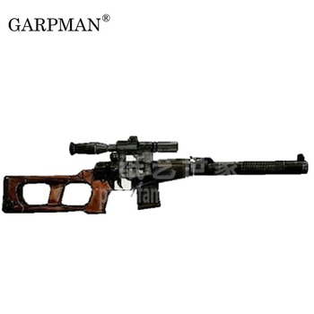 90 см 1:1 Vintorez машина для резки резьбы VSS специальная снайперская винтовка 3D бумажная модель