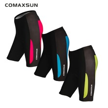 COMAXSUN Womens Cycling Shorts 3D Padded Bike/Bicycle LadiesTight S-3XL WEOCS001 3 Color