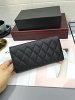 890 New 2019 Genuine Leather Women's Long Wallet Female Wallets Cards Holder Ladies Money Bag Luxury Brand Coin Purse