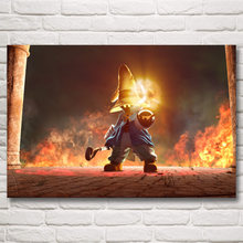 FOOCAME Final Fantasy Vivi Ornitier Video Games Art Silk Poster Prints Home Decor Painting 12x18 16X24 20x30 24x36 Inches(China)