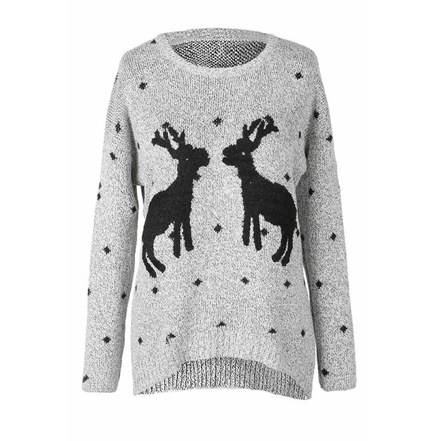Amuybeen Christmas Knitted Sweater 1