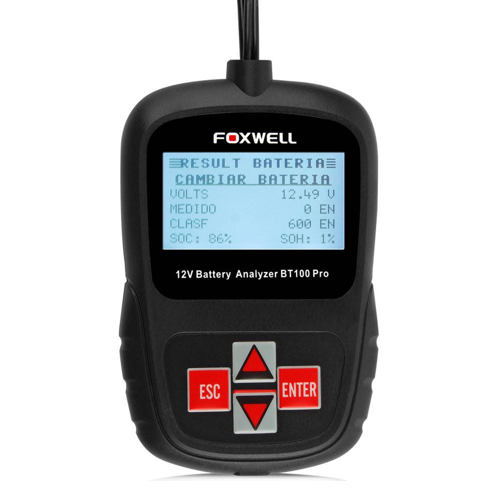 Foxwell BT100 PRO Car Battery Tester 12V-06