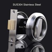 Quality Stainless Steel 304 Recessed Invisible Cup Handle/ Privacy/Hidden Door Locks Cabinet Pull Handle Door Lock Hardware K140