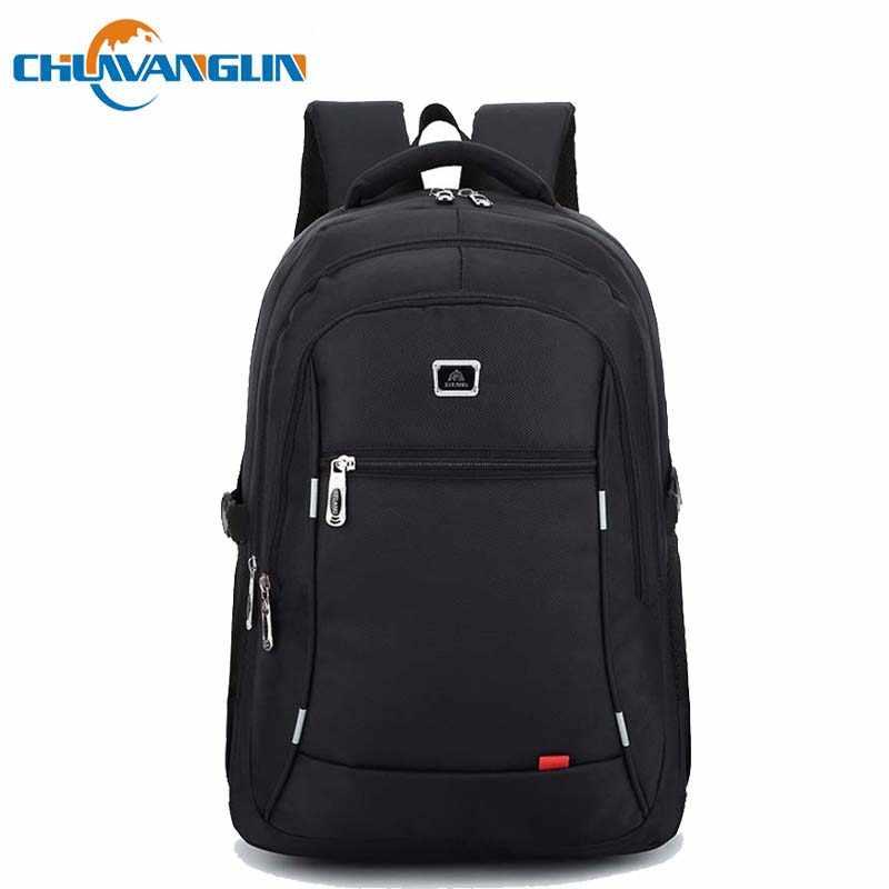 d5e1d4e75ed1 Chuwanglin fashion male backpacks waterproof Business Laptop backpack 15.6  inches backpack men travel bags school bag