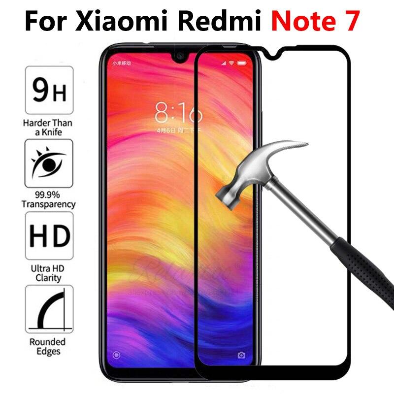 Стекло для Xiaomi redmi note 7 полное Закаленное стекло протектор экрана для Xiaomi redmi note 7 защитная фронтальная пленка Сенсорное стекло