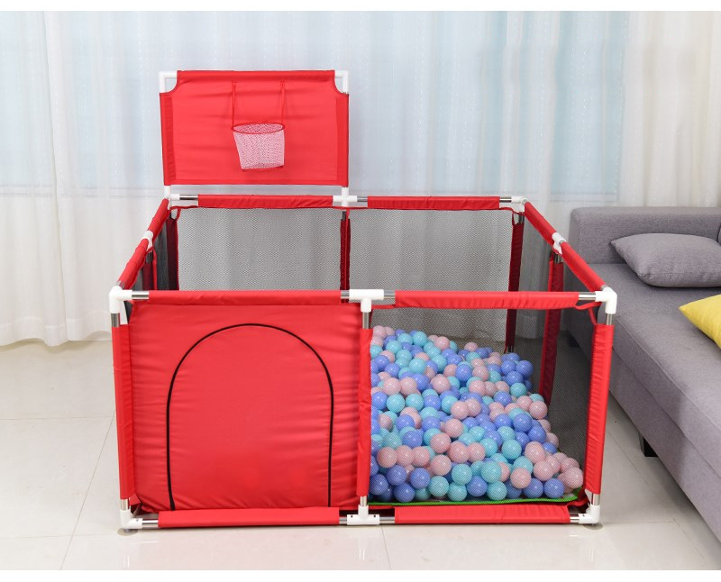 Baby Playpen Made With Stainless Steel Tube For Baby Pool Balls 18