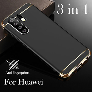 For Huawei Y9 Y7pro P smart Plus 2019 P20 P30 Pro Lite Case Luxury 3 In 1 Hard Cover Coque for Huwei Honor 10i 20i 8A 8C 8X Case(China)