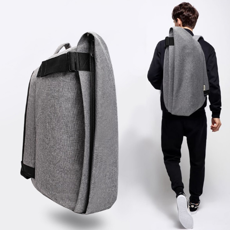 OZUKO Brand Oxford Waterproof Men Backpack USB Charging Notebook Computer Anti Theft Leisure Backpack Men School Bags Travel Bag