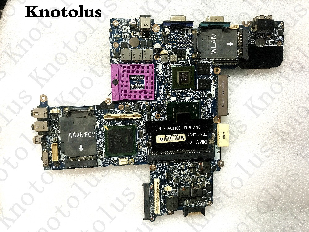 cn-0r872j for dell d630 laptop motherboard ddr2 pm965 la-3302p g86-621-a2 Free Shipping 100% test ok laptop motherboard for hp dv2000 460716 001 48 4y001 03m pm965 nvidia g86 630 a2 ddr2