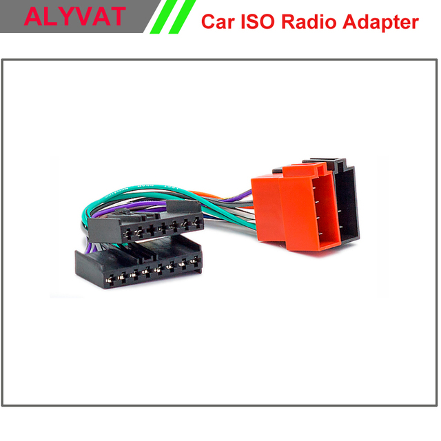US $13.99 |Car ISO Radio Adapter Connector For Ford 1985 2005 Jaguar on