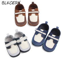 Newborn Baby Boy Shoes 1 Year Old First Walkers Infant Slippers Toddler Loafers First Step Crib Shoes Prewalkers Soft Sole Tenis недорого