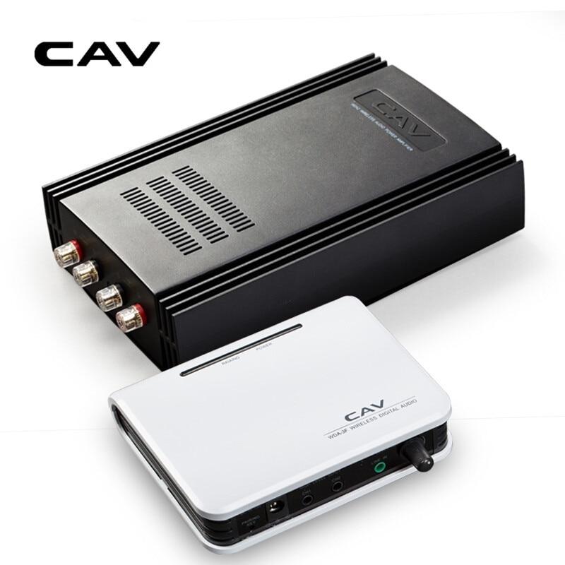 CAV WDA2 Home Theater Amplifier 5.1 Channel Wired/Wireless Amplifier Transmitter/Receiver Combination 2.4G Transmitter Amplifier