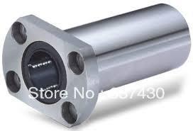 20pcs/lot LMH25LUU LMT25LUU long type with oval flange linear bearing 25x40x112mm