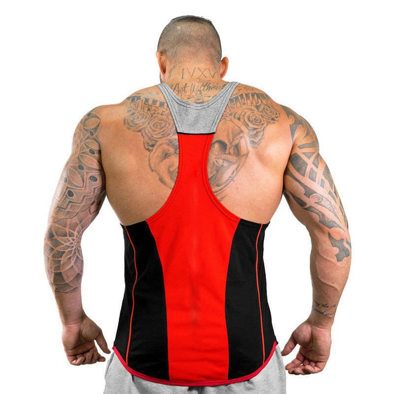 ZOGAA Gym Men Bodybuilding Tank Top Muscle Stringer Athletic Fitness Shirt Clothes Men Cotton Hot Top Clothing Summer Hot Sale in Tank Tops from Men 39 s Clothing
