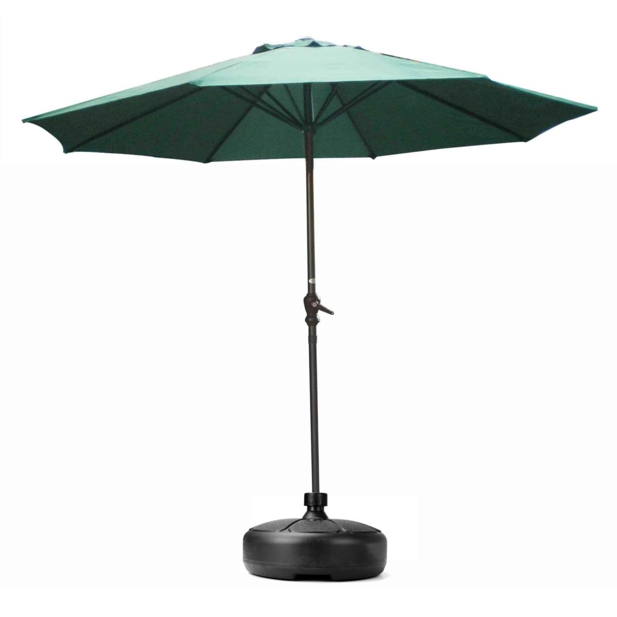Parasol Outdoor Round Umbrella Base Stand Beach Garden Flagpole Holder Black