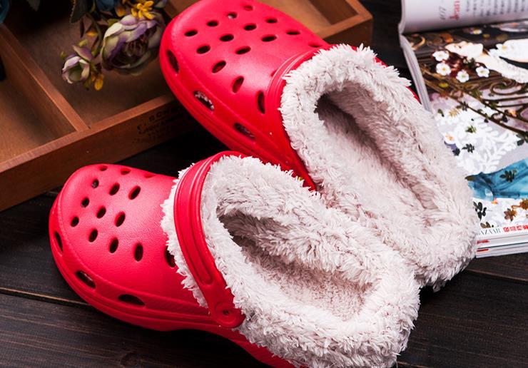 Women's Winter Clog Slipper Waterproof Breathable Garden Shoes with Plush Sandal Slides for Women dansko women s tandy clog