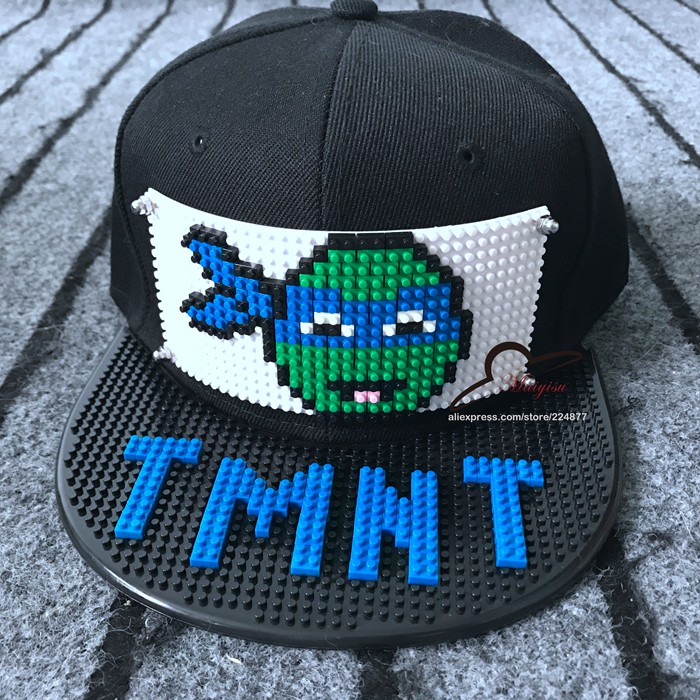 teenage mutant ninja turtles baseball hat caps turtle new mosaics blocks hats cap hip hop classic