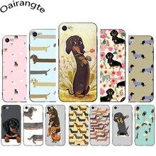 Phone-Cover-Case Dachshund iPhone 12 Cute Cartoon Mini for 5/5s/6/.. Dog Soft